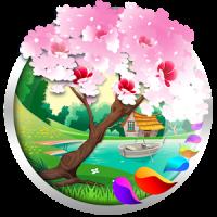 Spring and Easter Live Wallpaper + Tamagotchi Pet