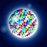 Linterna de Colores para Discoteca