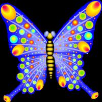 Flowers & bflies 4 Doodle Wish