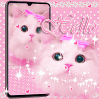 Cute Kitty theme Pink Bow Kitty