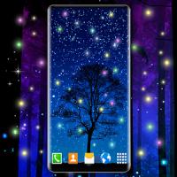 Firefly Live Wallpaper Dark Night 4K Wallpapers