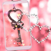 Valentine Love Lock Live Wallpaper