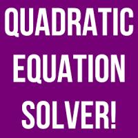 Quadratic Solver Exact Answer