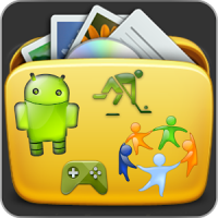 Apps Organizer-Create Folders