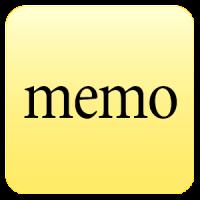 Ultra quick memo notes