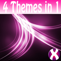 Pink Streaks Complete 4 Themes