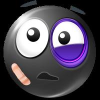 Black Smileys by Emoji World ™