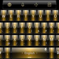 Theme TouchPal Dusk Gold