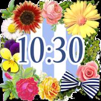 Cute Clock Widget 【FREE】