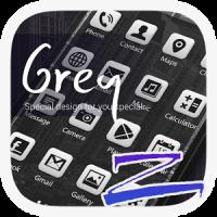Grey Theme - ZERO Launcher