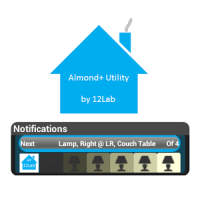 Almond+ Lamp Controller Widget