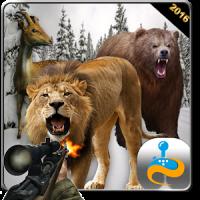 Wild animal hunt jungle safari