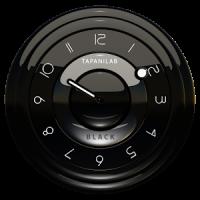 Widget Analog Clock noir