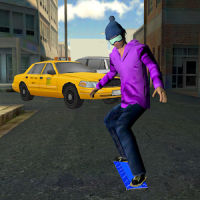 City Skateboard Street Racing