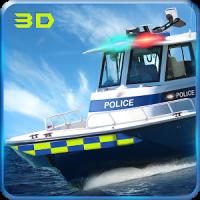 海軍警察スピードボートの攻撃