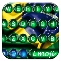 Brazil Spheres Emoji Keyboard