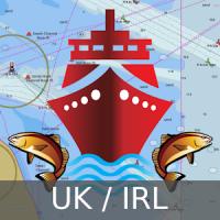 UK/Ireland Marine Navigation Charts & Fishing Maps
