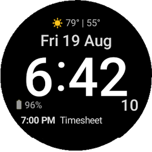 Be:Wi WatchFace