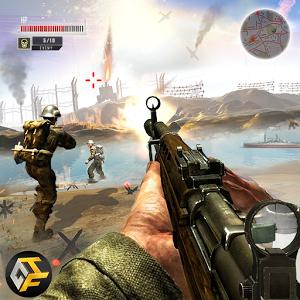 WW2 Survival War Prisoner : FPS Shooting Game